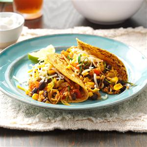 Black Bean and Corn Tacos Recipe