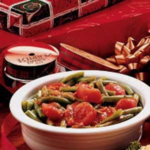 Festive Green Beans Recipe