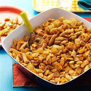 Crunchy Italian Snack Mix Recipe