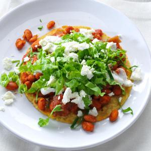 Pinto Bean Tostadas Recipe