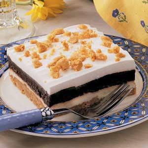 Peanut Butter Icebox Dessert Recipe