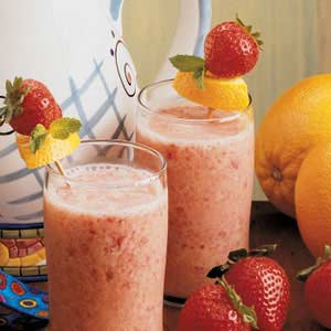 Strawberry Orange Shakes Recipe