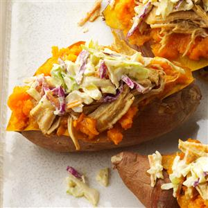 Southern Loaded Sweet Potatoes Recipe