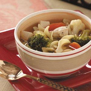 Vegetable Chicken Soup Recipe