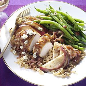 Chicken with Caramelized Pears Recipe