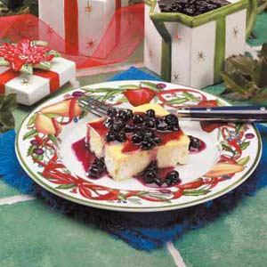 Blueberry Blintz Souffle Recipe