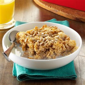 Maple Apple Baked Oatmeal Recipe