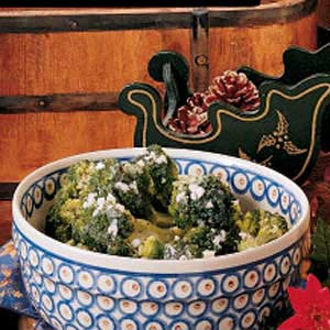 Broccoli in Herbed Butter Recipe