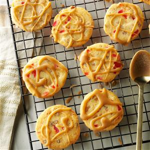 Glazed Candied Fruit Cookies Recipe