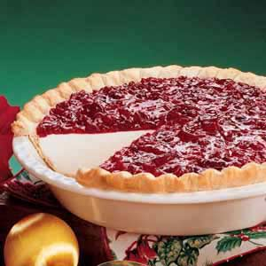 Cranberry Dream Pie Recipe