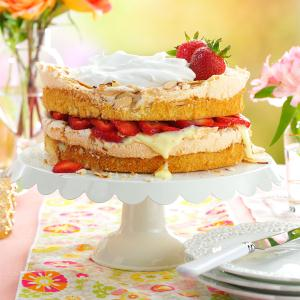 Strawberry Blitz Torte Recipe