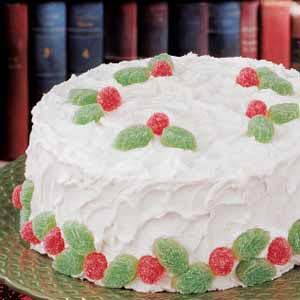 Holiday White Cake Recipe Taste Of Home
