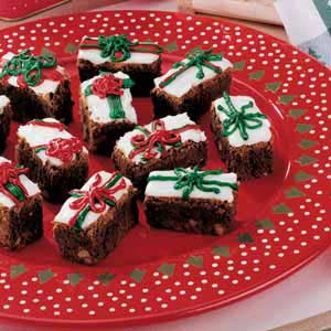 Gift-Wrapped Brownies Recipe