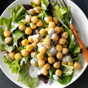 Lemony Garbanzo Salad Recipe