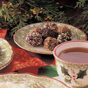 Chocolate Raisin Truffles Recipe