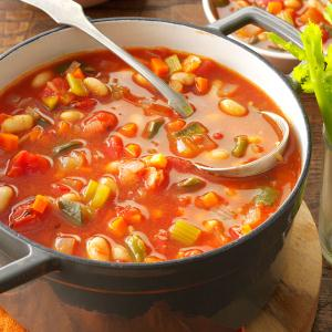 Bloody Mary Soup with Beans Recipe