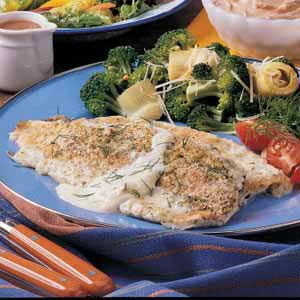 Trout Baked in Cream Recipe