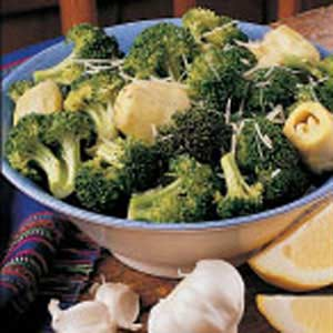 Zesty Broccoli and Artichokes Recipe