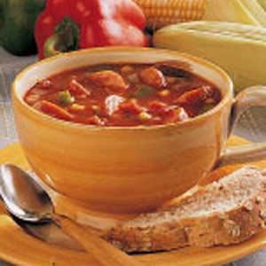 Corn and Sausage Soup Recipe