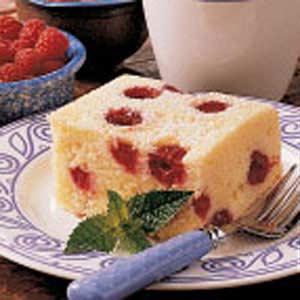 Upside-Down Raspberry Cake Recipe