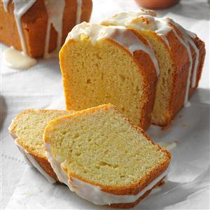 Taste Of Home Lemon Pound Cake Loaves