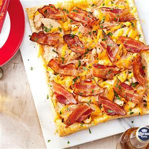 Chicken & Bacon Tart Recipe