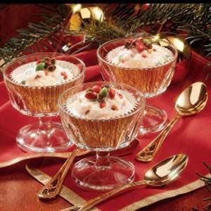 Noel Ice Cream Cups Recipe