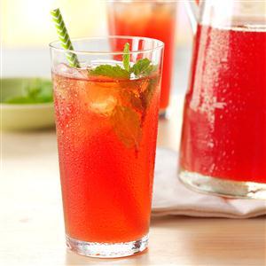 Rhubarb Mint Tea Recipe