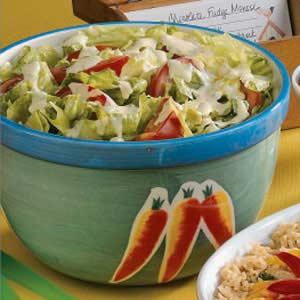 Honey-Mustard Tossed Salad Recipe