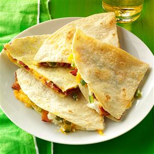 Jalapeno Popper Quesadillas Recipe