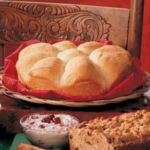 Soft Yeast Pan Rolls Recipe