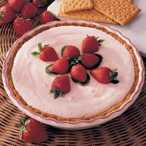 Strawberry Chiffon Pie Recipe