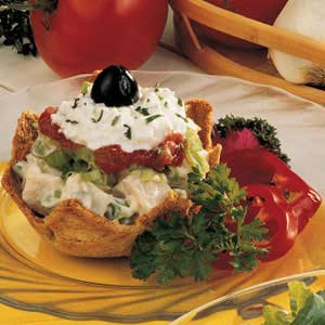 Turkey Salad Sundaes Recipe