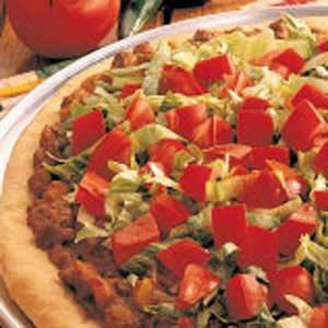 South-of-the-Border Pizza Recipe