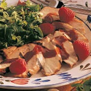 Chicken with Raspberry Sauce Recipe