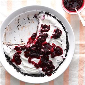 Cherry & Chocolate Ice Cream Pie Recipe