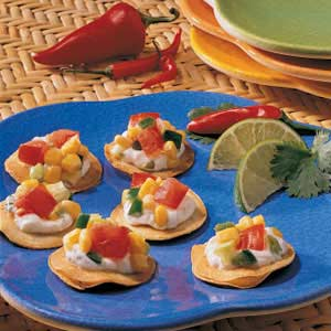 Corn Salsa Tostadas Recipe
