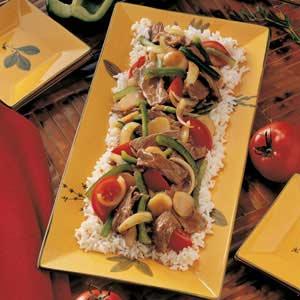 Steak and Vegetables Recipe