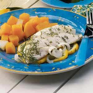 Lemon Dill Walleye Recipe