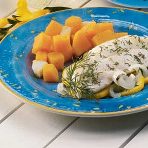Gingered Squash and Pears Recipe