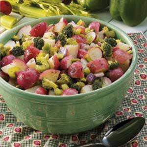 Veggie Potato Salad Recipe
