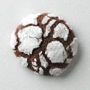 Mocha Crackle Cookies Recipe