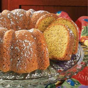 Coconut Poppy Seed Bundt Cake Recipe