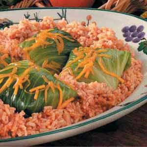 Venison Cabbage Rolls Recipe