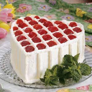 Chocolate Chiffon Valentine Cake Recipe