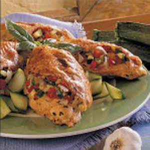 Zucchini-Stuffed Chicken Recipe