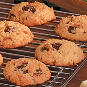 Toffee Malted Cookies Recipe