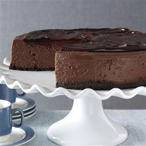 3D Chocolate Cheesecake Recipe