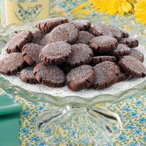 Chocolate Cappuccino Cookies Recipe