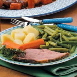 Ham with Vegetables Recipe